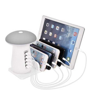 Multi Charging Station - Gray / Au Plug