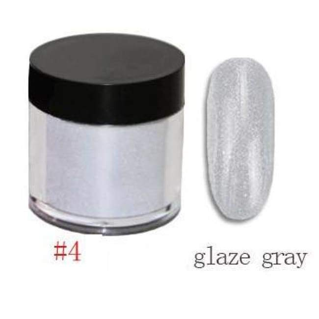 Nail Dipping Powder Longer Lasting Than Uv Gel Polish ! - Glaze Grey