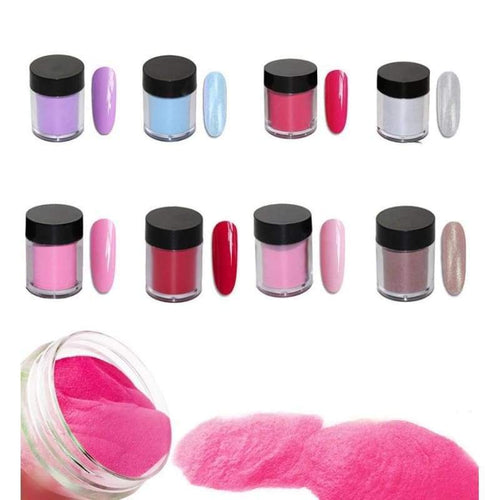 Nail Dipping Powder Longer Lasting Than Uv Gel Polish !