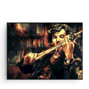 Paint By Numbers Violin - 16X20Inch No Framed