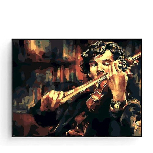 Paint By Numbers Violin