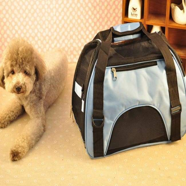 Pet Carrier Travel Tote - Blue / M - Pet