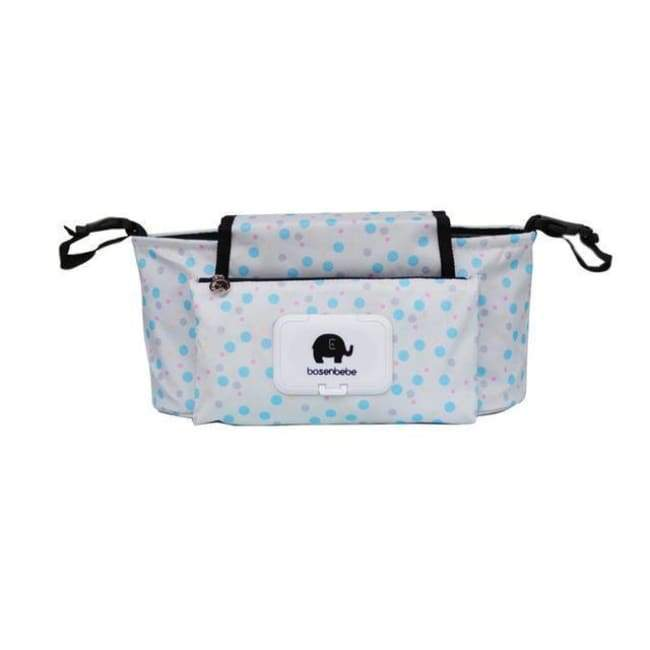 Portable Stroller Pouch - Blue Dot