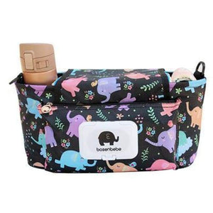 Portable Stroller Pouch - Elephants