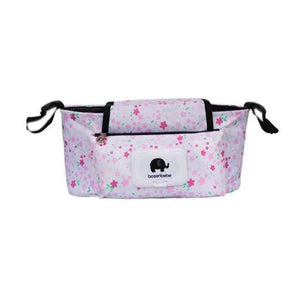 Portable Stroller Pouch - Flowers
