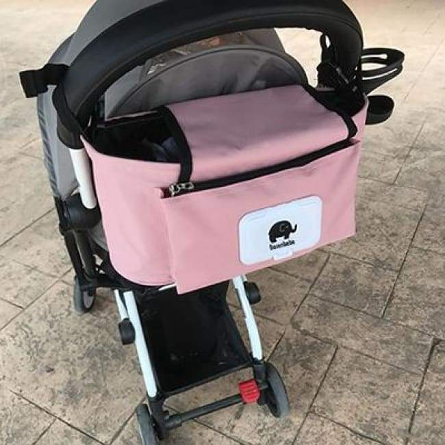 Portable Stroller Pouch - Pink