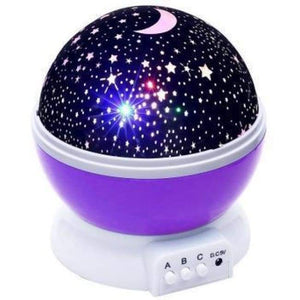 Starry Night Sky Projector - Purple