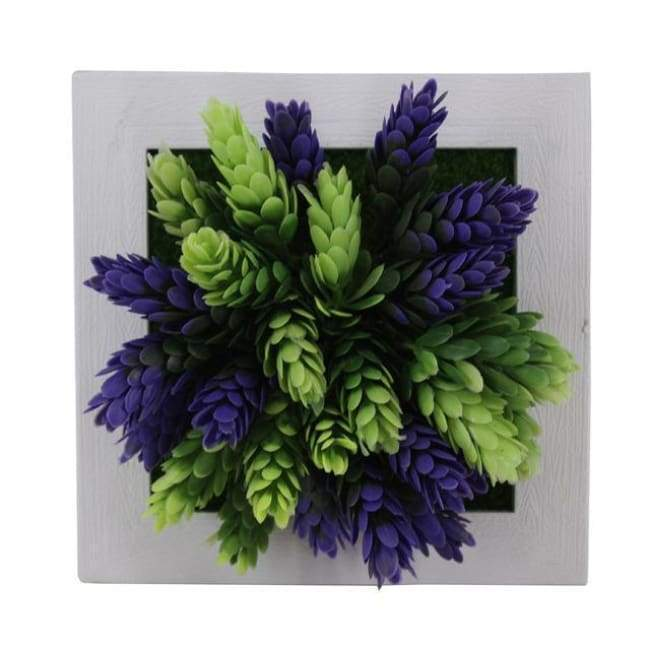 Succulent Wall Hanger Frame - Blue & Light Green - Frame