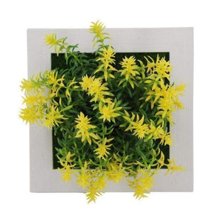 Succulent Wall Hanger Frame - Yellow & Green - Frame