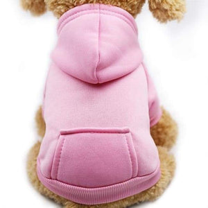 Super Cute Small Pet Hoodie - Pink / L - Dog