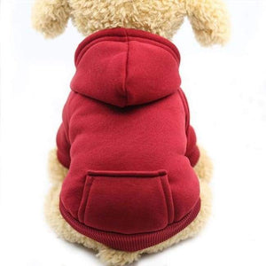 Super Cute Small Pet Hoodie - Red / L - Dog