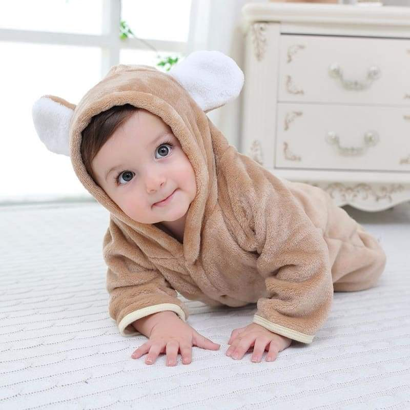 Velvet & Cotton Baby Winter Suit