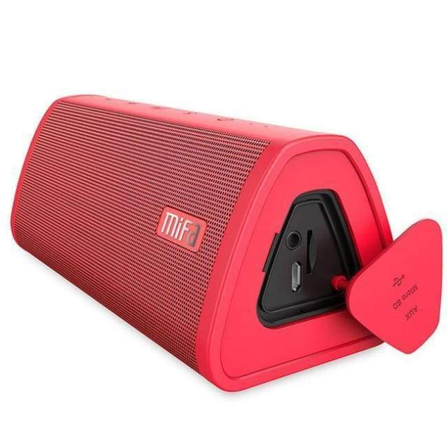 Waterproof Bluetooth Music Speakers - Red