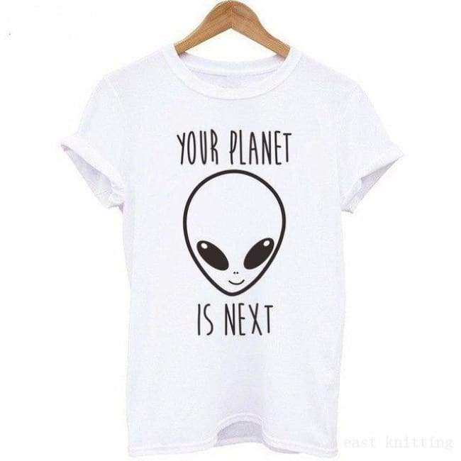 Your Planet Is Next T-Shirt - H745 / L