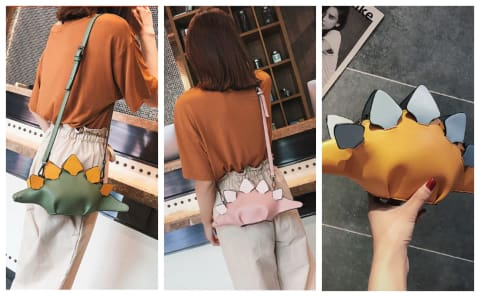Dinosaur Clutch & Cross Body Bag