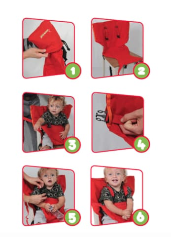 Portable Toddler Chair Cradle
