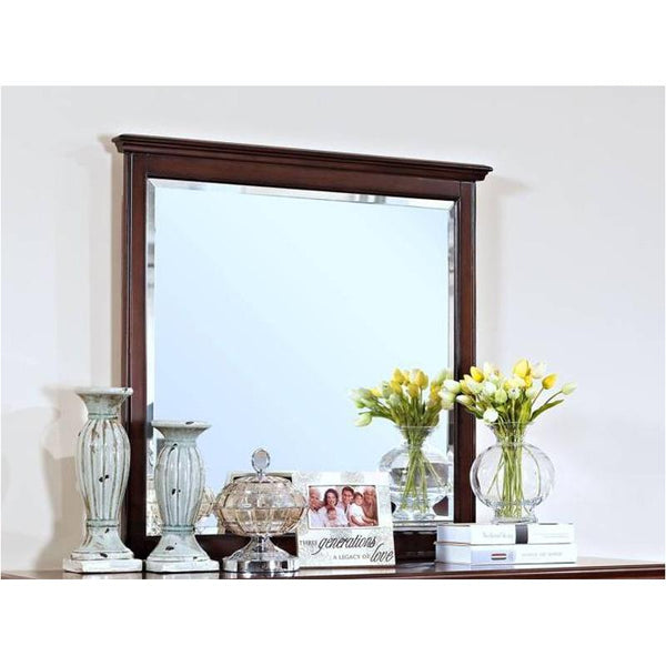 New Classic Spring Creek Mirror for Dresser -  Tobacco Finish