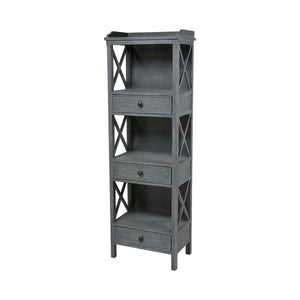 STEIN WORLD CHILMARK 3-DRAWER SHELVING UNIT