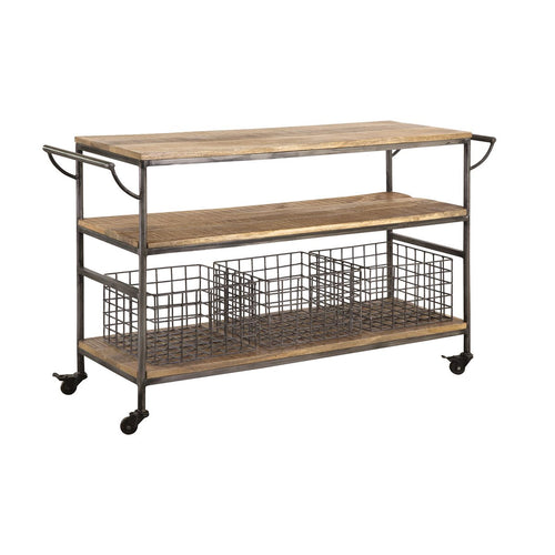 STEIN WORLD COUNTRY KITCHEN TROLLEY