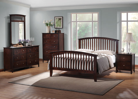 COASTER  Tia Queen Bedroom Set W/ Dresser, Mirror, and Nightstand
