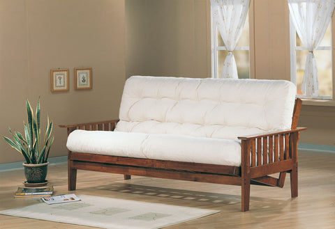 Coaster Casual Futon Frame with Slat Side Detail