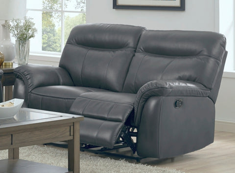 Atlas Casual Reclining Love Seat with Pillow Arms