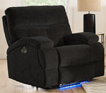 Edison Full Power Glider Recliner - Slate