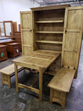 Cowboy Kitchen Folding Hideaway Dining Set