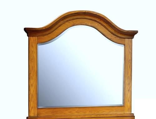 New Classic Hailey Landscape Dresser Mirror in Toffee Finish