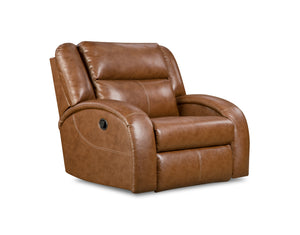 Maverick Brown Layflat Power Plus Recliner