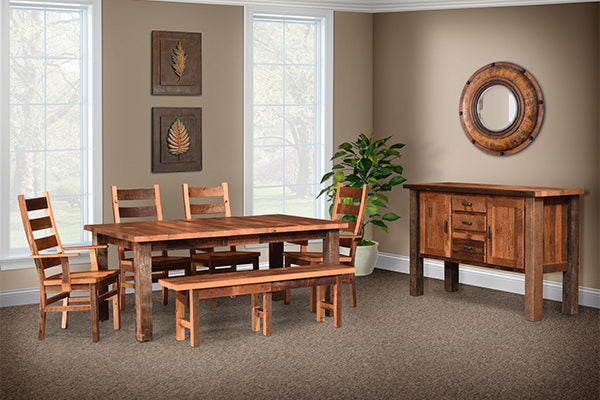 Almanzo Dining Room by Urban Barnwood