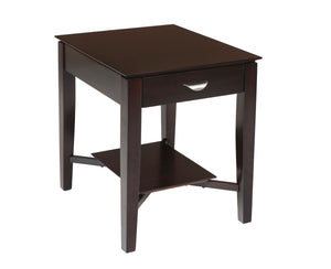 Adrian End Table - Espresso