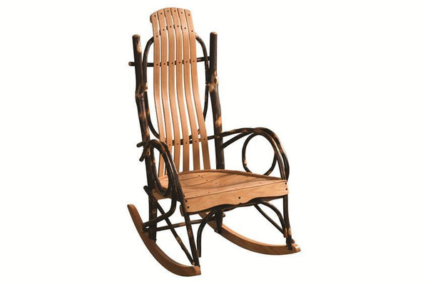 Amish Blue Mountain Hickory Rocker