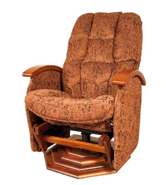 Amish Boulder Creek Deep Swivel Glider