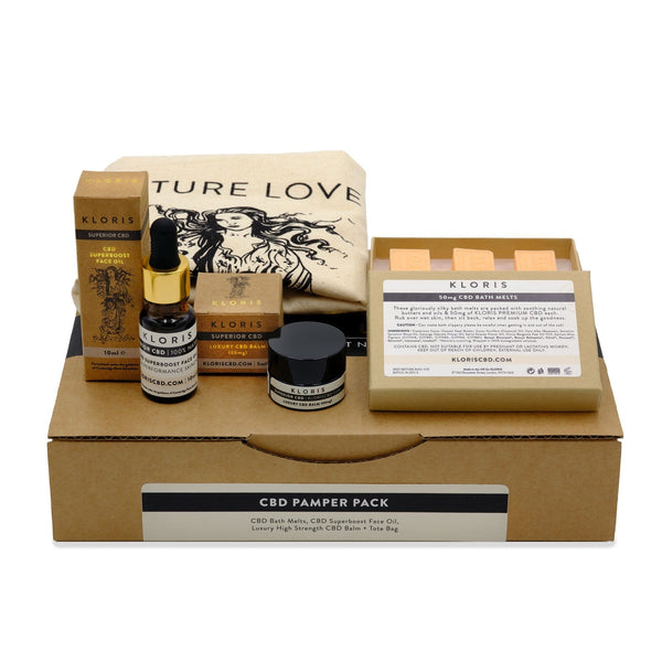 The KLORIS CBD Pamper Pack Gift Set