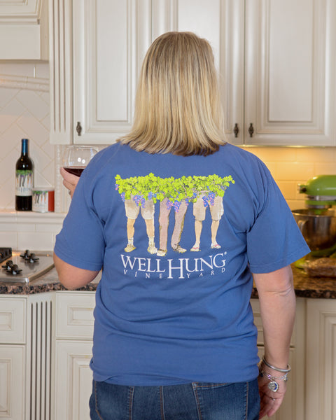 Well Hung Logo T (4 Colors)