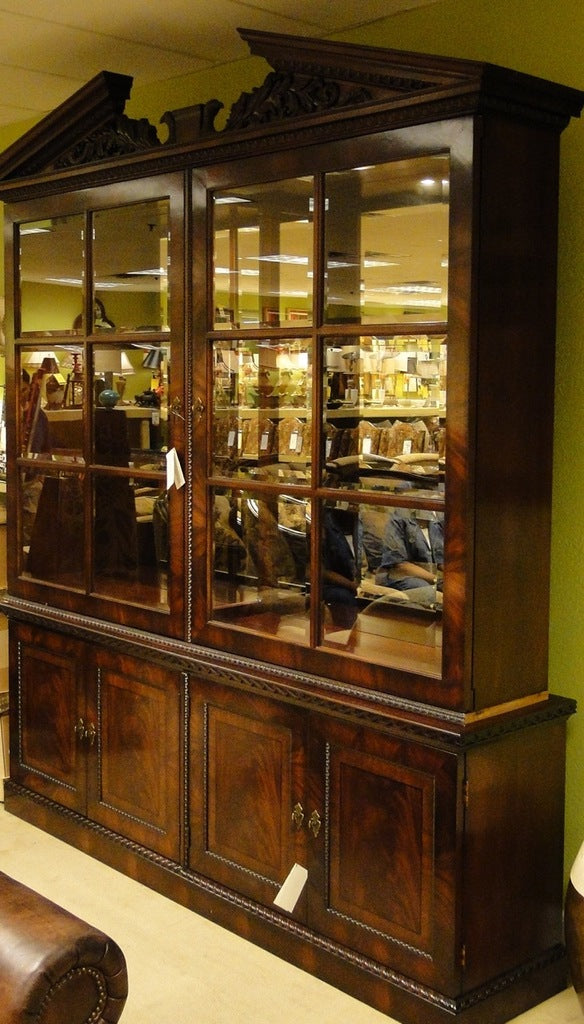 henredon china cabinet - natchez collection | clink furniture