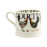 Emma Bridgewater small poultry on parade mug