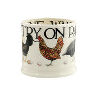 New for 2019 Emma Bridgewater Small Poultry on Parade Mug