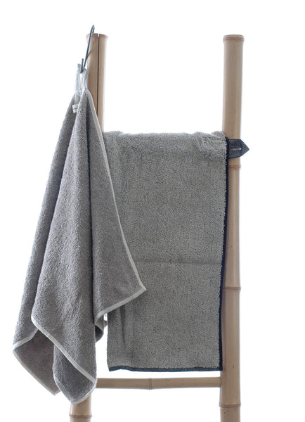 Terry Linen Large Towel with Robust Useful Hanging Loop 65x125cm