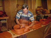 Traditional Chorizo Terracotta Tabletop Clay Baker Handmade in Portugal