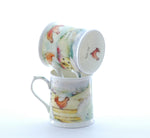 Bone China Hen Party Tankard Mugs by Royal Worcester