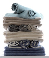 6 large Pure Linen Tea Towels in All 6 Colours Available in This Collection 80x50cm