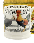 Emma Bridgewater HALF PINT Chicken new day mug