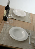 2 Superb Quality Pure French Linen Napkins/Place-mats