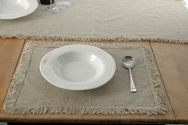 Pure Linen place mats the crockery barn