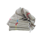 Pure Pre-Washed Linen Tea Towels from The Rainbow Collection