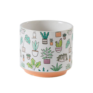 Open image in slideshow, Plant Icon Pot