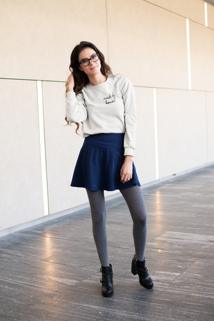 be lorette pull ou sweat evjf en coton Maid of honor / témoin blanc