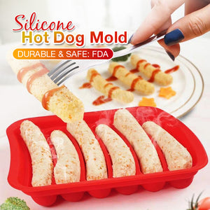 Silicone Hot Dog Mold